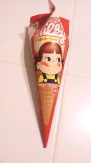 ペコちゃんアイス